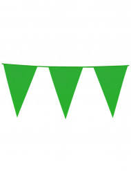 Ghirlanda con bandiere verdi