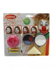Kit trucco da clown per Carnevale e Halloween