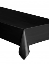 Tovaglia nera rettangolare in plastica