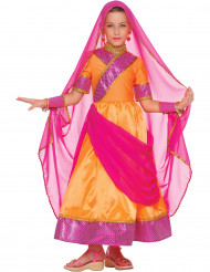 Costume principessa indiana Bollywood bambina