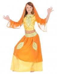 Costume principessa indiana bambina