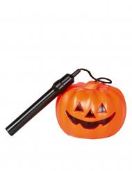 Torcia forma di zucca di Halloween