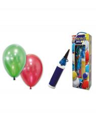 Palloncini metallici e apposita pompa