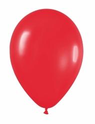 24 palloncini da 25 cm rossi
