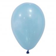 24 palloncini da 25 cm celesti