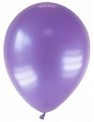 12 palloncini di colore viola metallizzato