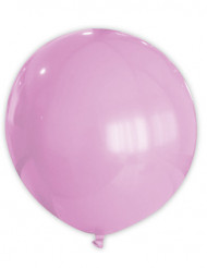 1 palloncino gigante rosa in gomma