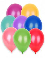 100 palloncini diversi colori 27 cm