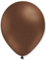 Confezione da 100 palloncini di colore marrone