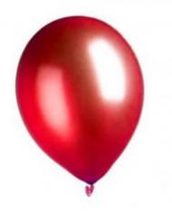 Palloncini rossi metallizzati 29 cm