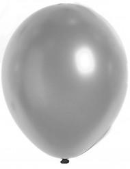Palloncini argento metallizzati 29 cm