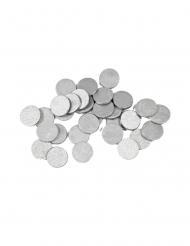 Cariandoli per la tavola rotondi color argento