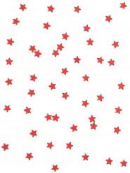 48 stelle specchio rosse 1 x 1 cm