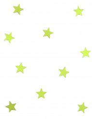 10 mini specchi a stella verdi