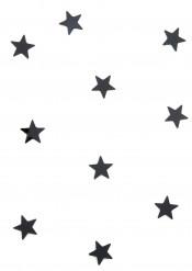 10 mini specchi a stella neri