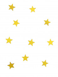 10 specchietti a forma di stella gialli