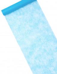 Runner da tavola in tessuto non tessuto color cielo