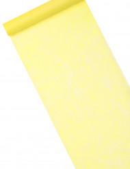 Runner in tessuto di colore giallo acceso 10 m