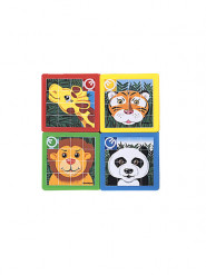 10 puzzle Animali