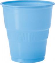 12 bicchieri di plastica azzurri