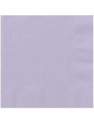 20 tovaglioli di carta color lavanda