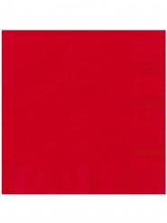 20 tovaglioli di carta rossi