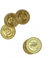 Trenta monete d'oro con teschio