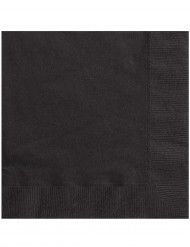 50 tovaglioli neri