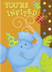 8 inviti di compleanno giungla