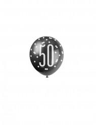 Palloncini colori assortiti per 50 anni