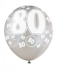 Palloncini grigi 80 anni