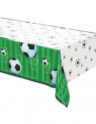 Tovaglia in plastica verde tema calcio