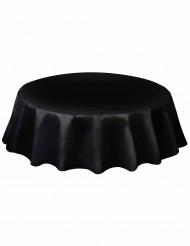 Tovaglia rotonda di plastica di colore nero