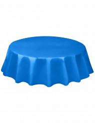 Tovaglia di plastica blu per tavoli rotondi