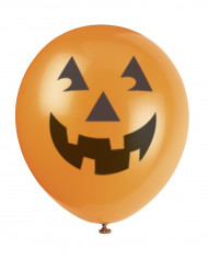 6 palloncini Halloween forma zucca