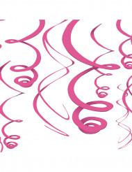 Decorazioni rosa da appendere