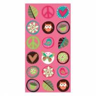 8 sacchetti per festa hippie
