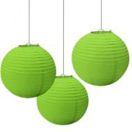Lanterne cinesi verdi da appendere al soffitto