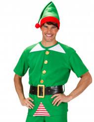 Completo elfo Natale Uomo