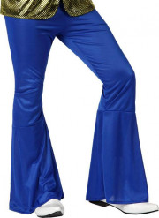 Pantalone disco blu da uomo