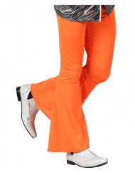 Pantalone disco arancione da uomo