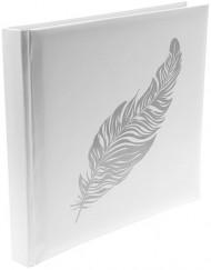Libro delle firme con piuma argento