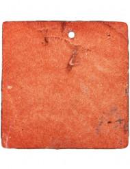 6 segnaposto quadrati color cioccolato