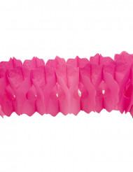 Festone di carta rosa fucsia
