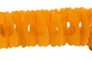 Festone di carta arancionedi 15 cm x 4 m