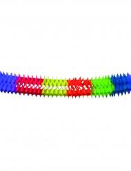 Ghirlanda carta colorata 6 metri