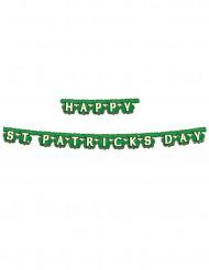Ghirlanda verde Happy St; Patrick's Day