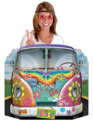 Cartellone a tema hippie