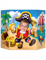 Cartellone per foto tema pirata