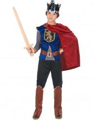 Costume da re medievale per bambino